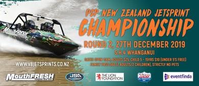 Round 2 PSP New Zealand Jetsprint Championship