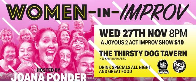 Women In Improv Comedy Night