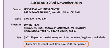 One Day Retreat - Yoga Sessions, Pranayama Meditation