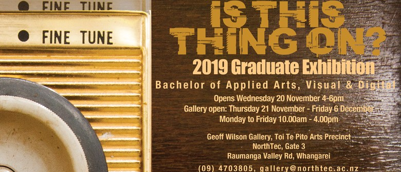 Is This Thing On? 2019 Graduate Exhibition
