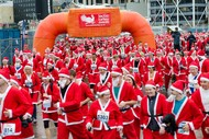 Image for event: The Great NZ Santa Run/Walk