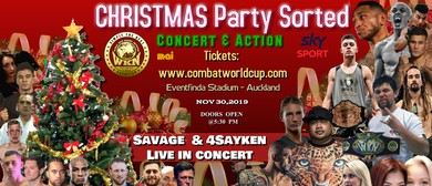 Kickboxing & MMA World Cup + Savage & 4Sayken Concert