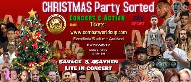 Kickboxing & MMA World Cup + Savage & 4Sayken Concert