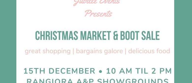 Christmas Market & Boot Sale
