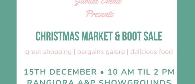 Christmas Market & Boot Sale