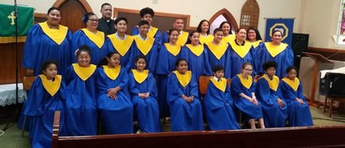 The St Kilda Tongan Methodist Choir and Youth Choir