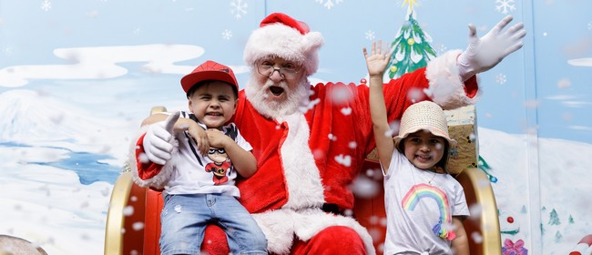 Visit Santa's Magical Grotto at Rainbow's End