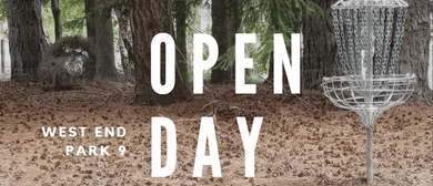 West End Park Disc Golf Opening Day