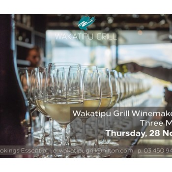 Three Miners Vineyard Winemakers Dinner: SOLD OUT