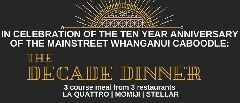 The Decade Dinner
