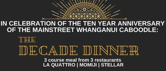 The Decade Dinner