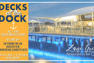 Image for event: Decks At the Dock - Daytime House Music Party