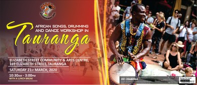 African Drumming and Dance Workshop in Tauranga- Full <em>Day</em>