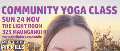 Community Yoga Class with Pip Mills