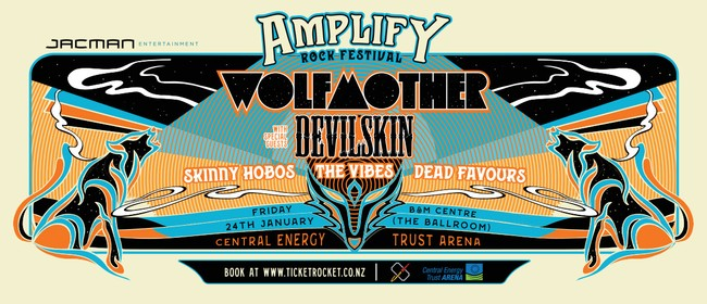 Amplify Rock Festival ft. Wolfmother, Devilskin + More