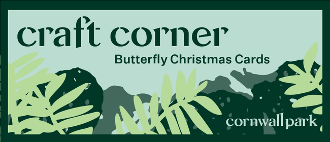 Craft Corner: Butterfly Christmas Card