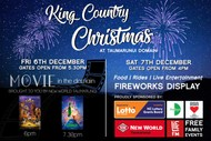 Image for event: King Country Christmas & Movies In the Domain 2019