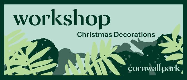 Workshop: Christmas Decorations
