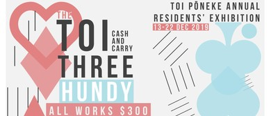 Toi Three Hundy: Toi Pōneke Annual Residents' Exhibition