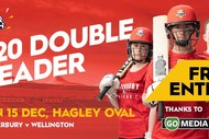 Image for event: Canterbury v Wellington Super Smash Double Header