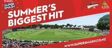 Canterbury Kings v Auckland Aces Super Smash