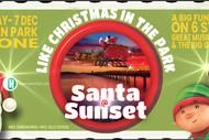 Santa@Sunset