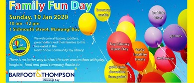 Family Fun Day for Toddlers and Pre-Schoolers