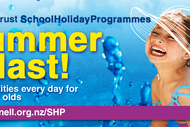 Image for event: Christmas at the Pools - Parnell Trust Holiday Programme