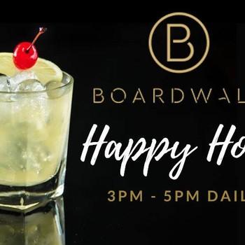 Boardwalk Bar Happy Hour