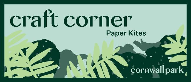 Craft Corner: DIY Paper Kite