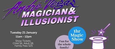 Andre Vegas Magician & Illusionist
