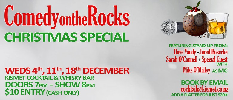 Comedy On the Rocks Christmas Special: CANCELLED