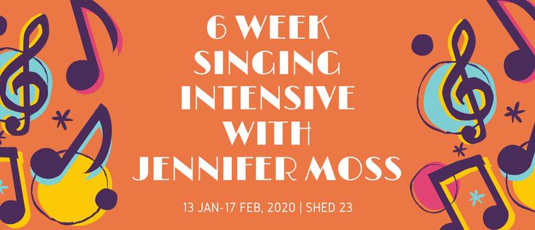 6-Week Singing Intensive with Jennifer Moss