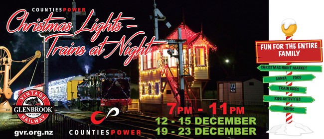 Counties Power Christmas Lights – Trains At Night