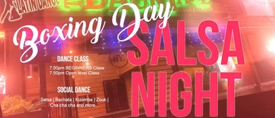 Boxing Day Salsa Night