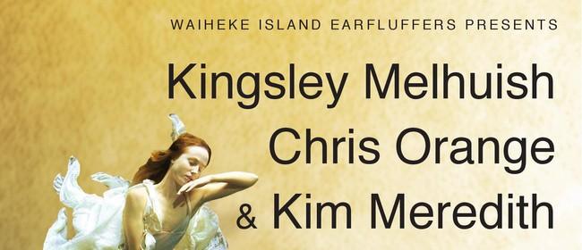 Kingsley Melhuish Chris Orange & Kim Meredith