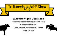 Image for event: Te Kauwhata A&P Show