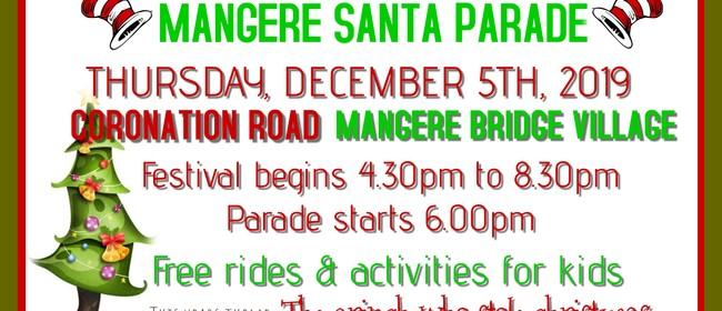 Mangere Santa Parade