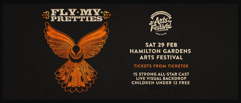 Fly My Pretties at Hamilton Gardens Arts Festival