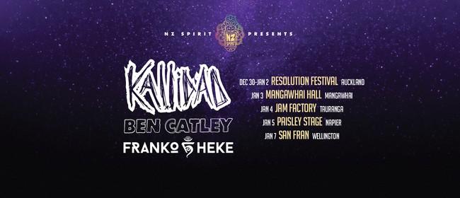 Kallidad / Ben Catley / Franko Heke