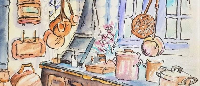 Travel Sketching Workshop I: Istanbul