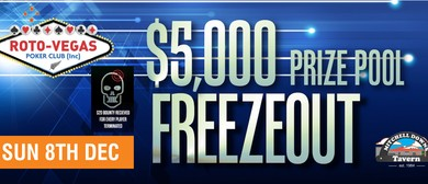Roto-Vegas Poker Tournament Freezeout