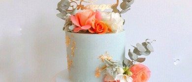 Fresh Flowers and Sharp Edges Cake Class
