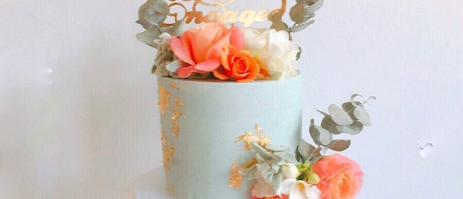 Fresh Flowers and Sharp Edges Cake Class: CANCELLED