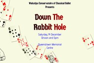 Image for event: Down The Rabbit Hole