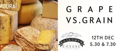 Kaikoura Cheese & Le Samourai – Grape vs. Grain