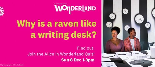 Wonderland Quiz!: CANCELLED