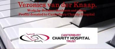 Piano Recital Fundraiser to Canterbury Charity Hospital