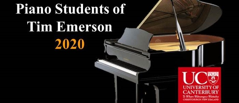 UC Piano Students of Tim Emerson