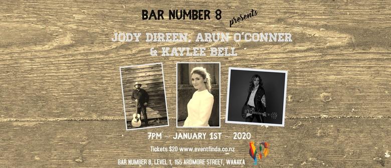 Jody Direen, Arun O'Connor and Kaylee Bell